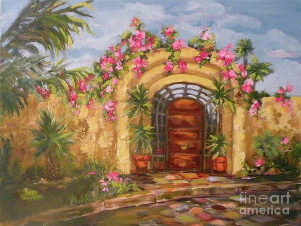 La Punta Villa Art Print