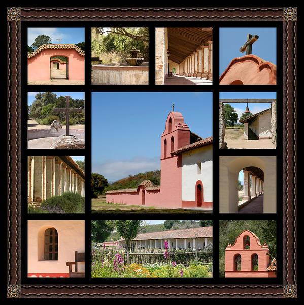 La Purisima Mission Photograph - La Purisima Mission #1  by Art Block Collections