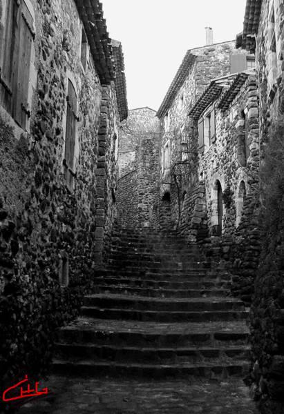 Photograph - la Roche Alba Ardeche Romaine France by Colette V Hera  Guggenheim