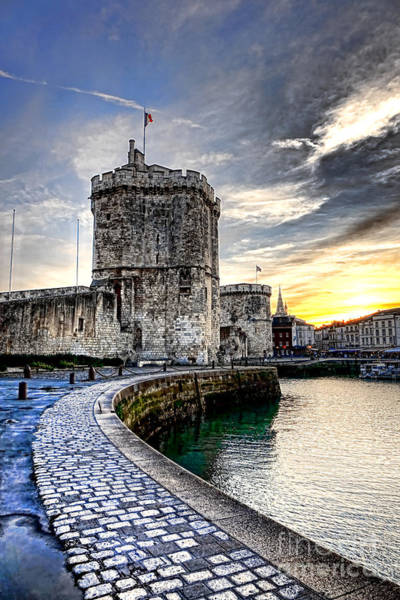 Fortification Photograph - La Rochelle  by Olivier Le Queinec