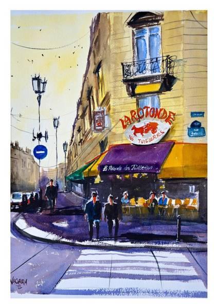 Wall Art - Painting - La Rotonde Des Tuileries by James Nyika