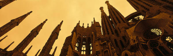 Avant-garde Photograph - La Sagrada Familia Barcelona Spain by Panoramic Images