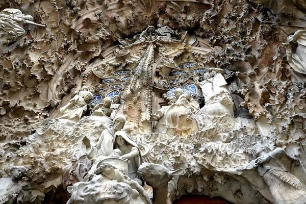 Photograph - La Sagrada Familia In Barcelona - Gaudi by Toby McGuire