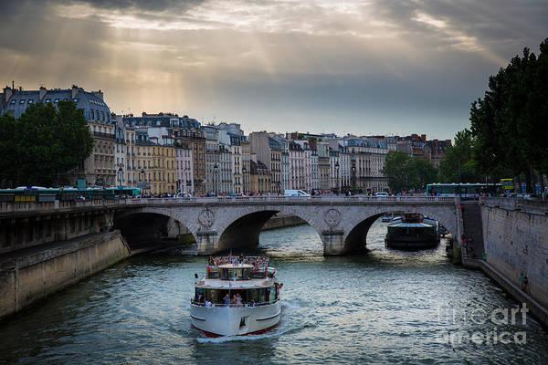 Photograph - La Seine by Inge Johnsson