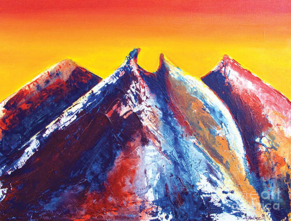 Painting - La Silla Energy by Kandyce Waltensperger