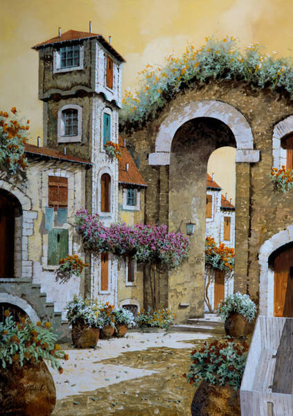 Wall Art - Painting - La Torre by Guido Borelli
