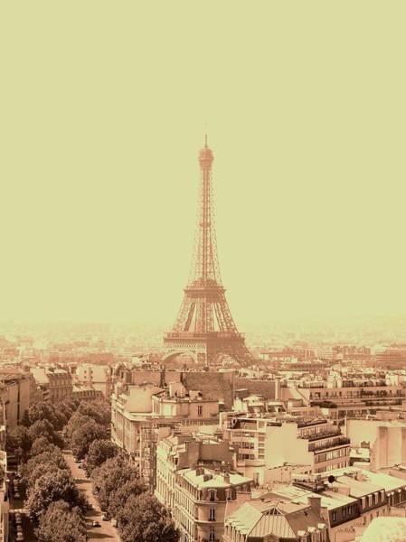 Photograph - La Tour D Eiffel The Eiffel Tower by Cleaster Cotton