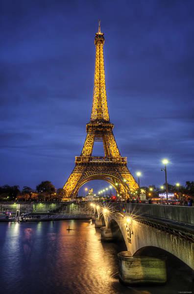 Photograph - La Tour Eiffel by Ryan Wyckoff