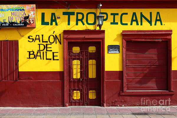Tropicana Club Photograph - La Tropicana Dance Hall by James Brunker