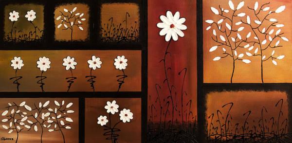Painting - La Vie En Blanc by Carmen Guedez