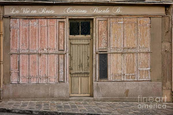 Wall Art - Photograph - La Vie En Roses Is Closed by Olivier Le Queinec