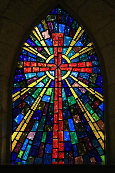 Holy Spirit Photograph - La Villita Cross by Stephen Stookey