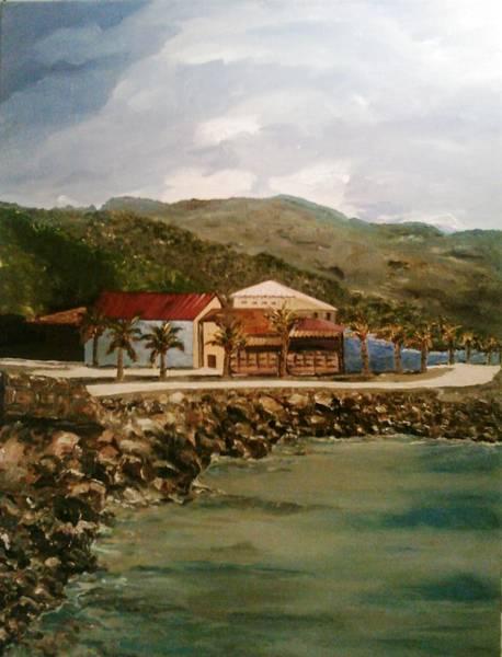Painting - Labadee Resort 2 by Ray Khalife