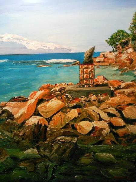 Painting - Labadee Resort by Ray Khalife