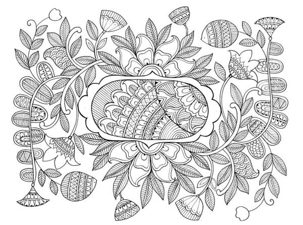 Colours Drawing - Label Pattern 2 by MGL Meiklejohn Graphics Licensing