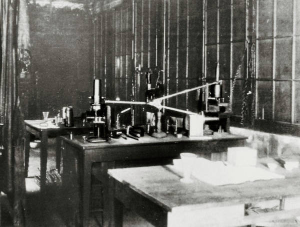 Wall Art - Photograph - Laboratory Of Pierre And Marie Curie by Science Photo Library