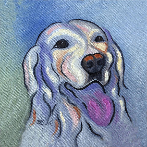 Painting - Labrador Retriever by Karen Zuk Rosenblatt