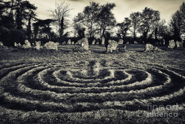 Wicca Photograph - Labyrinth by Tim Gainey