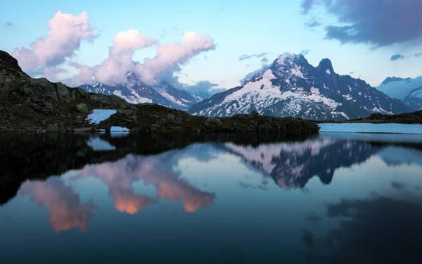 Chamonix Wall Art - Photograph - Lac Chesery Alpes by Renan Gicquel