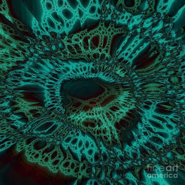 Crochet Digital Art - Laced by Elizabeth McTaggart