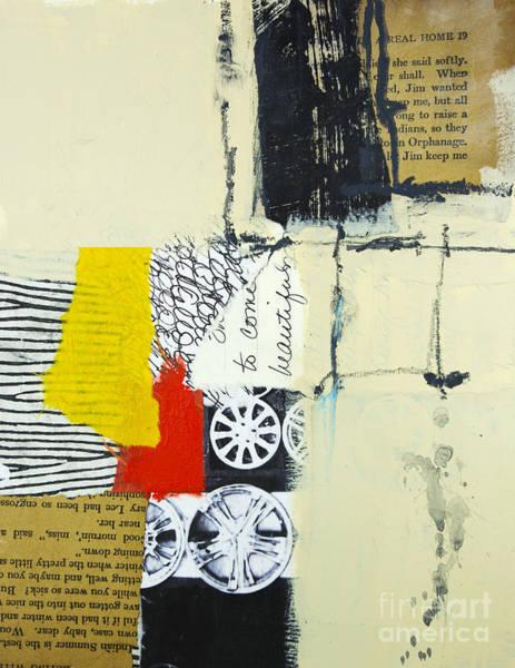 Stripe Mixed Media - Lack Of Words by Elena Nosyreva