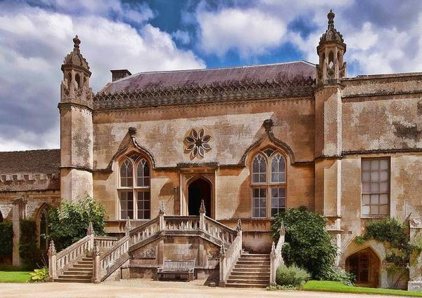 Photograph - Lacock Abbey - The West Front by Paul Gulliver
