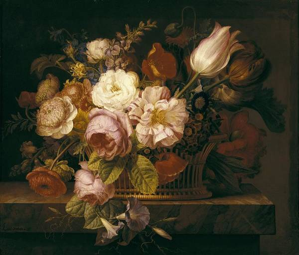 Flowers In A Vase Photograph - Lacoma, Francisco 1784-1849. Still Life by Everett