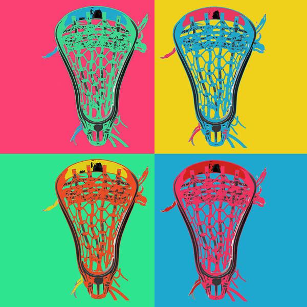 Lax Digital Art - Lacrosse Big4 by YouGotThat