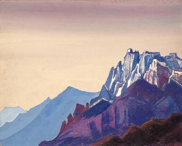 Nk Roerich Painting - Ladakh by Nicholas Roerich