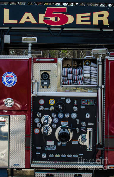 Photograph - Ladder 5 by Dale Powell