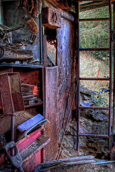 Photograph - Ladder To The Upstairs by David Patterson