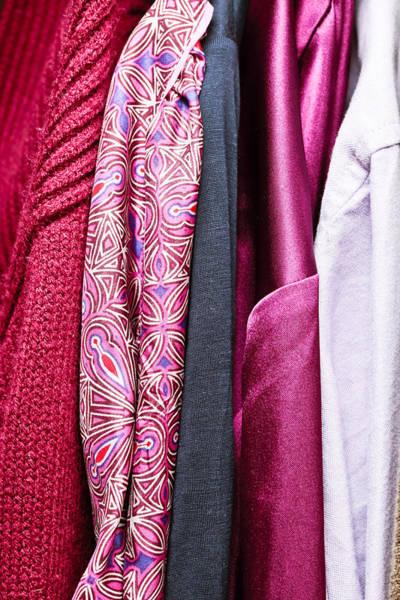 Dress Shop Photograph - Ladies' Clothes by Tom Gowanlock