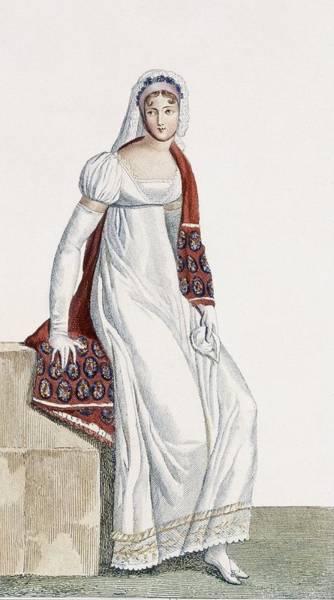 Conservative Wall Art - Drawing - Ladies Day Dress, 1811 by Pierre de La Mesangere
