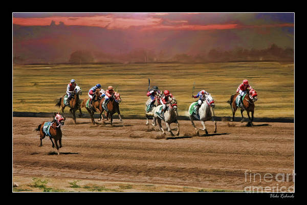 Photograph - Ladies World Chapionship Ladies Cup Missing One Lady by Blake Richards