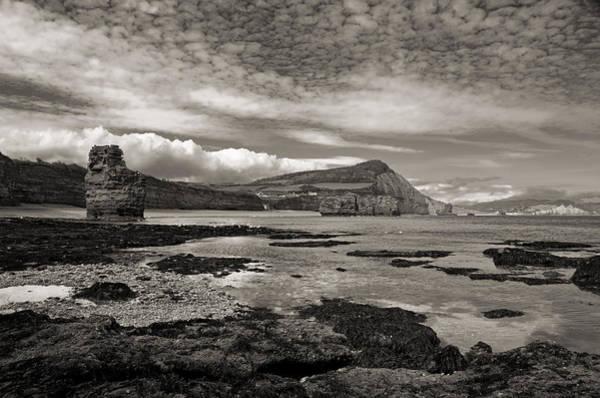 Photograph - Ladram Bay At Low Tide by Pete Hemington