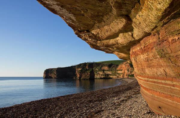 Photograph - Ladram Bay In East Devon by Pete Hemington