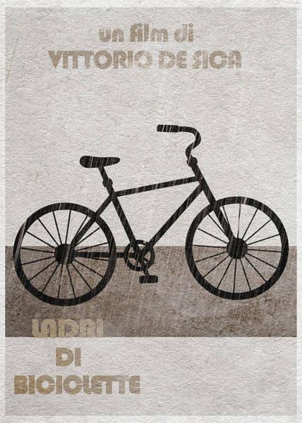 Digital Art - Ladri Di Biciclette by Inspirowl Design