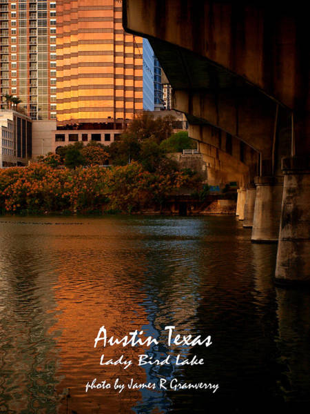 Photograph - Lady Bird Lake In Fall by James Granberry