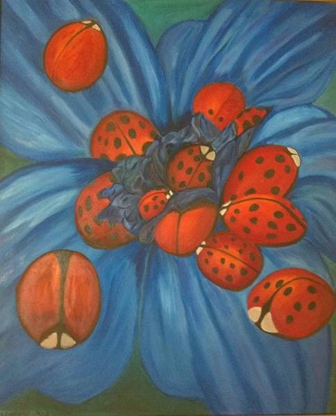 Priceless Painting - Lady Bugs by Kristy  Kilpatrick