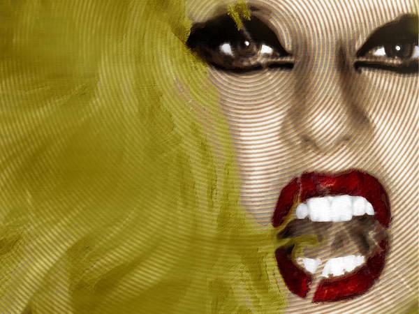 Painting - Lady Gaga 2 by Tony Rubino