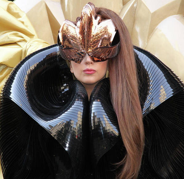 Lady Gaga Photograph - Lady Gaga Fame Perfume Launch by Rob Kim