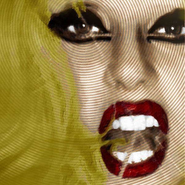 Painting - Lady Gaga by Tony Rubino