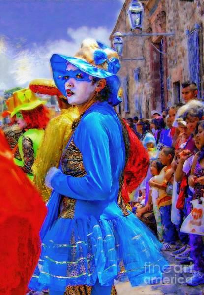 Photograph - Lady In Blue by John  Kolenberg