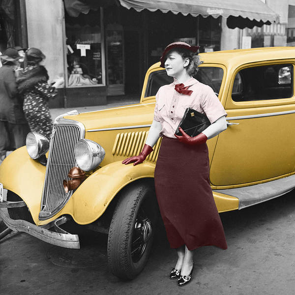 Photograph - Lady In Red by Andrew Fare