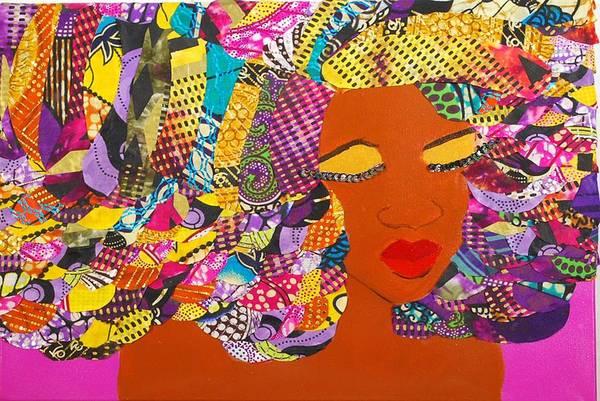 Tapestry - Textile - Lady J by Apanaki Temitayo M