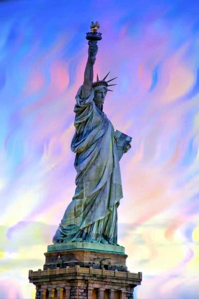 Photograph - Lady Liberty Blues by Alice Gipson