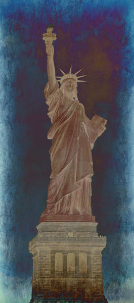 Statue Of Liberty National Monument Wall Art - Photograph - Lady Liberty No 10 by Stephen Stookey