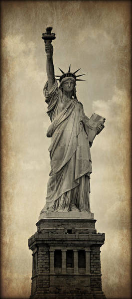 Statue Of Liberty National Monument Wall Art - Photograph - Lady Liberty No 11 by Stephen Stookey