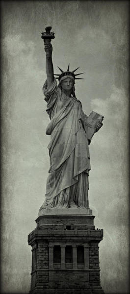 Statue Of Liberty National Monument Wall Art - Photograph - Lady Liberty No 12 by Stephen Stookey