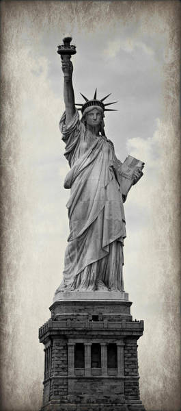Statue Of Liberty National Monument Wall Art - Photograph - Lady Liberty No 6 by Stephen Stookey